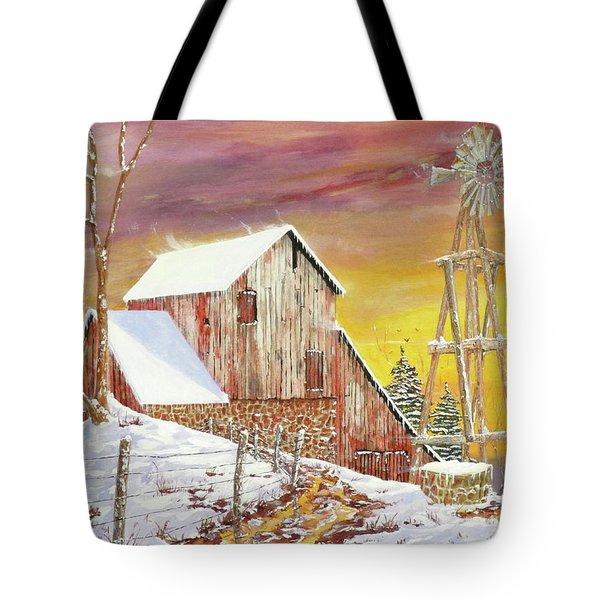 Texas Coldfront Tote Bag
