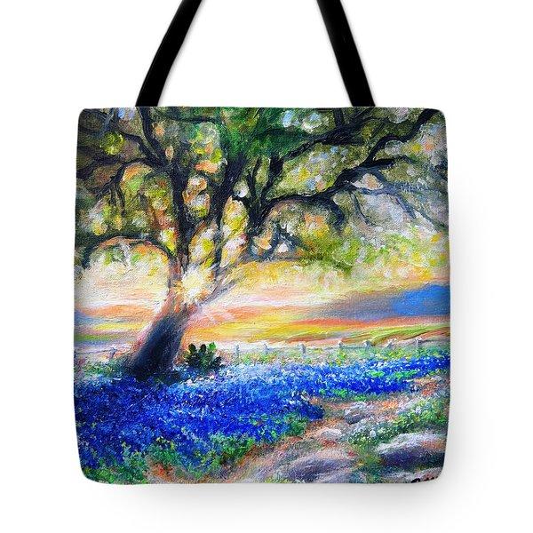 Texas Fanfare Tote Bag by Patti Gordon