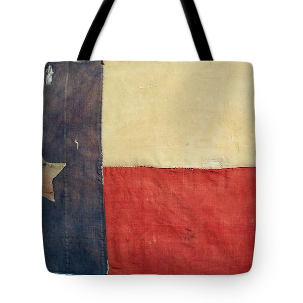 Texas Flag, 1842 Tote Bag by Granger