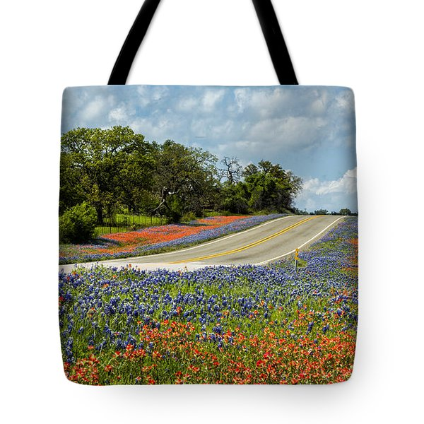 Texas Highways Tote Bag
