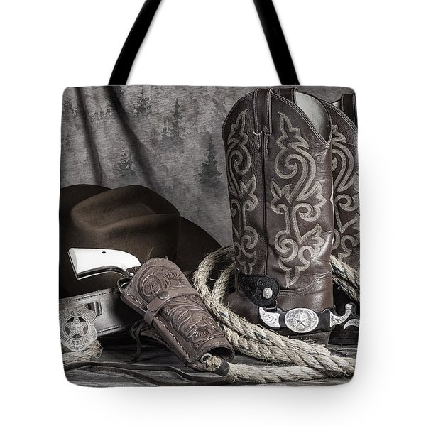 Texas Lawman Tote Bag