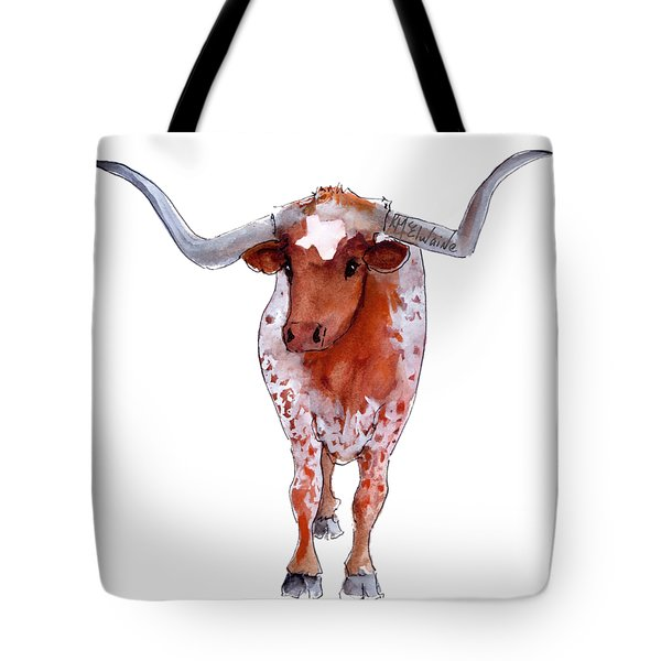 Texas Longhorn Branded  Tote Bag