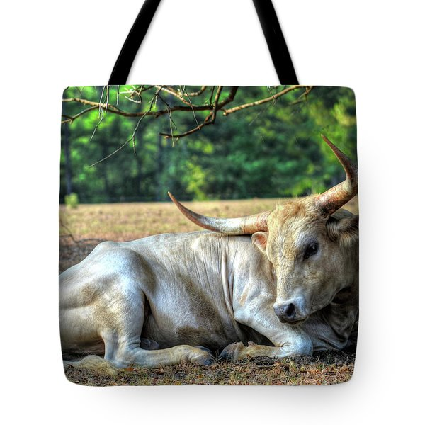 Texas Longhorn Gentle Giant Tote Bag