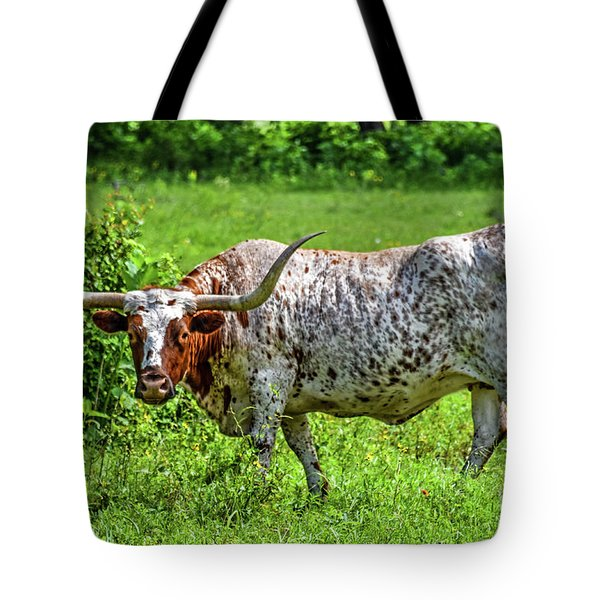 Texas Longhorn Tote Bag by Ray Shrewsberry