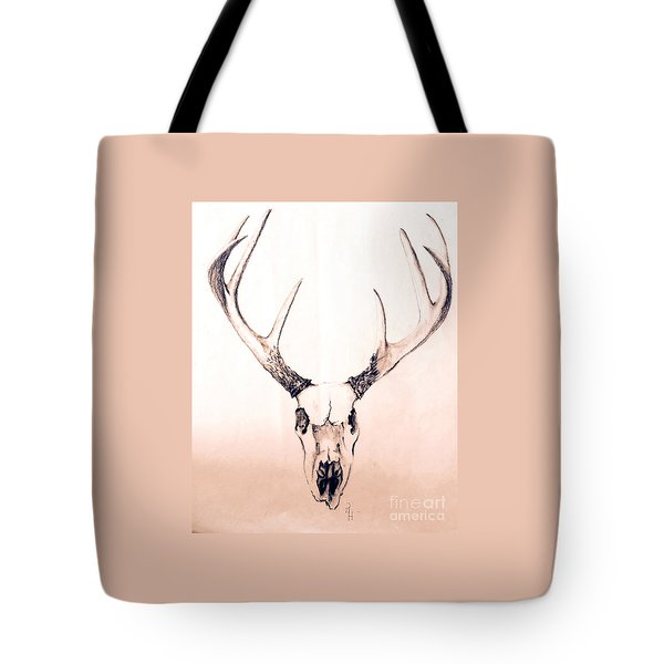 Texas Mount Deer Tote Bag