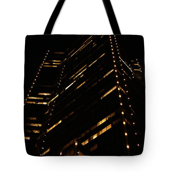 Texas Night Tote Bag by Linda Shafer