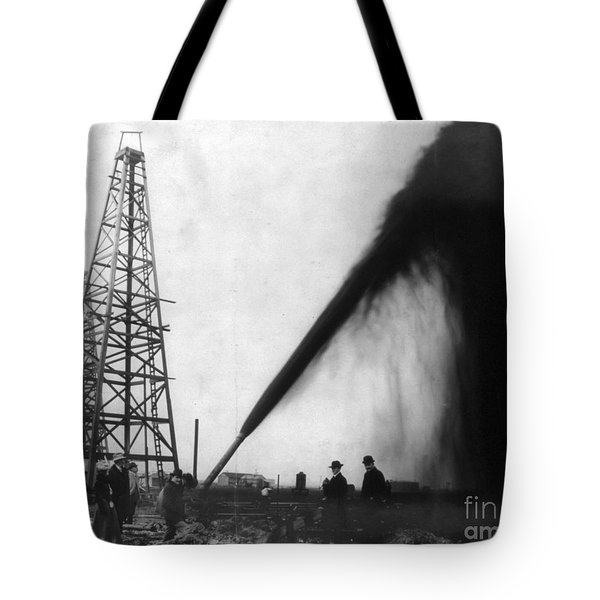Texas: Oil Derrick, C1901 Tote Bag by Granger
