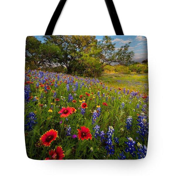 Texas Paradise Tote Bag