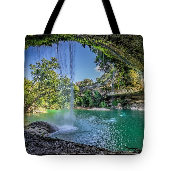 Texas Paradise Tote Bag by Jonathan Davison