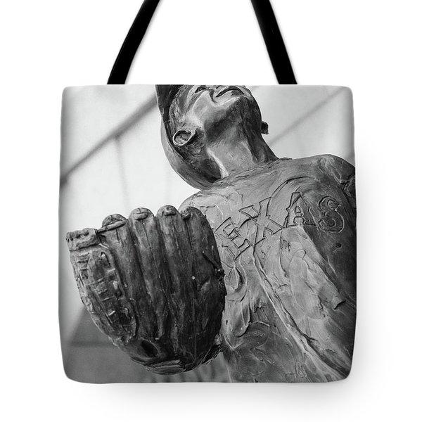Texas Rangers Little Boy Statue Tote Bag