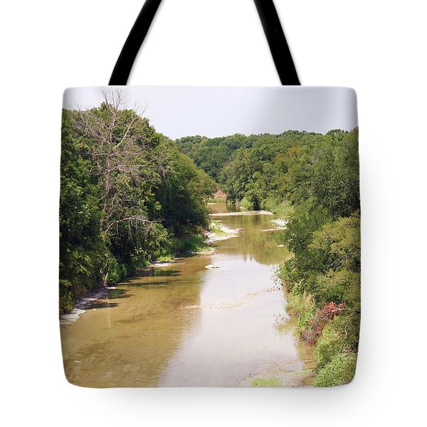 Texas River Tote Bag