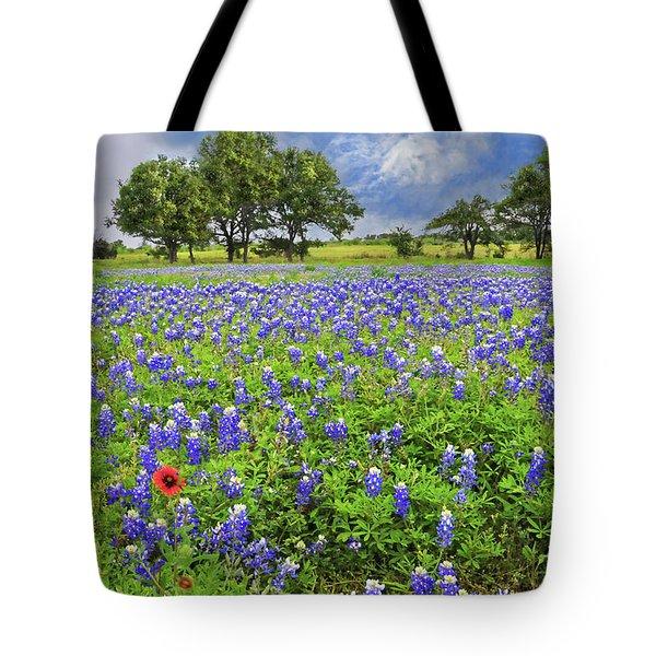 Texas Spring  Tote Bag