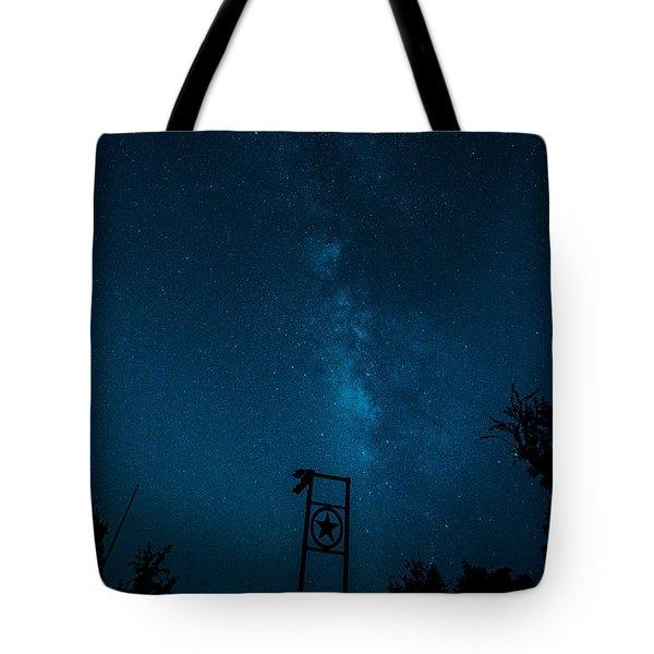 Texas Stars Tote Bag