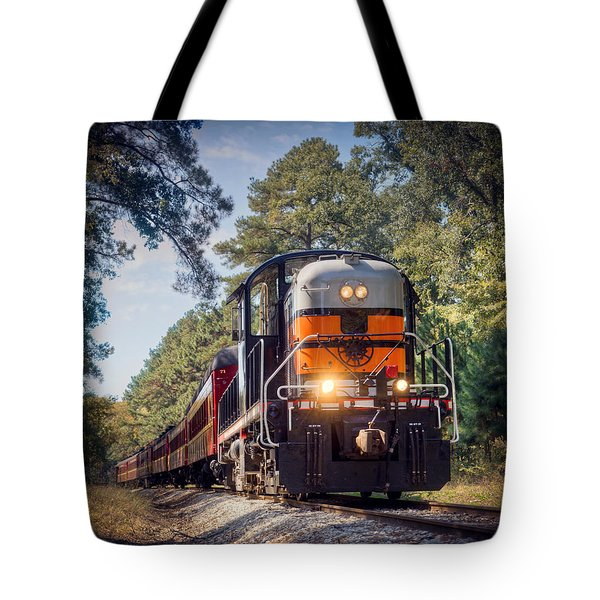 Texas State Railroad Tote Bag
