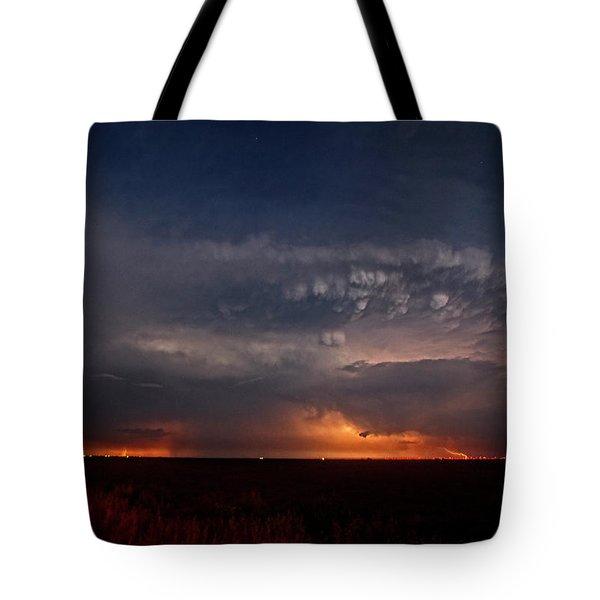 Texas Storm Tote Bag