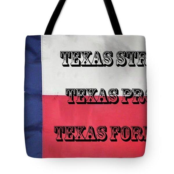 Texas Strong Tote Bag