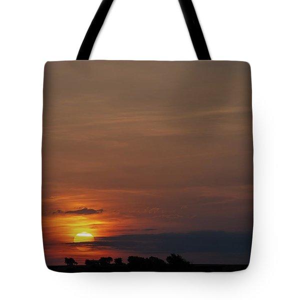Texas Sunrise Tote Bag