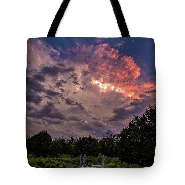 Texas Sunset Tote Bag