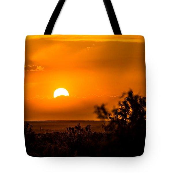 Texas Tangerine Tote Bag