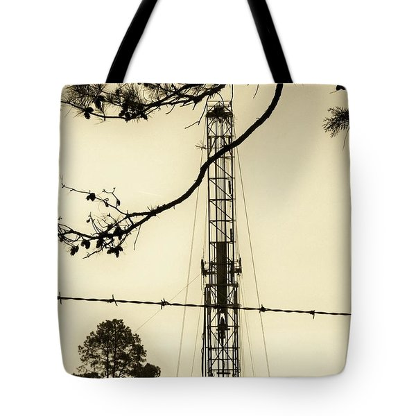 Tote Bag featuring the photograph Texas Tea by Betty Northcutt