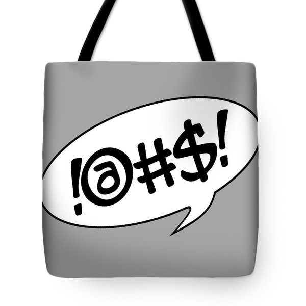 Text Bubble Tote Bag