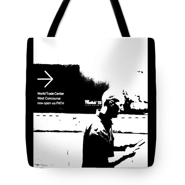Tote Bag featuring the photograph Text by Steve Godleski