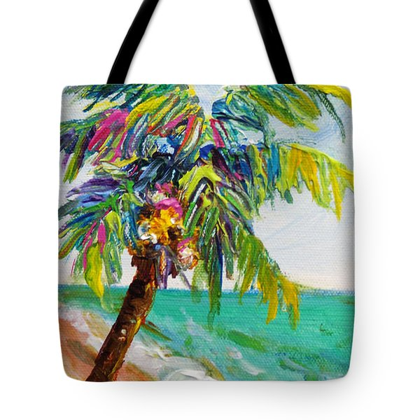 Texture Palm Tote Bag