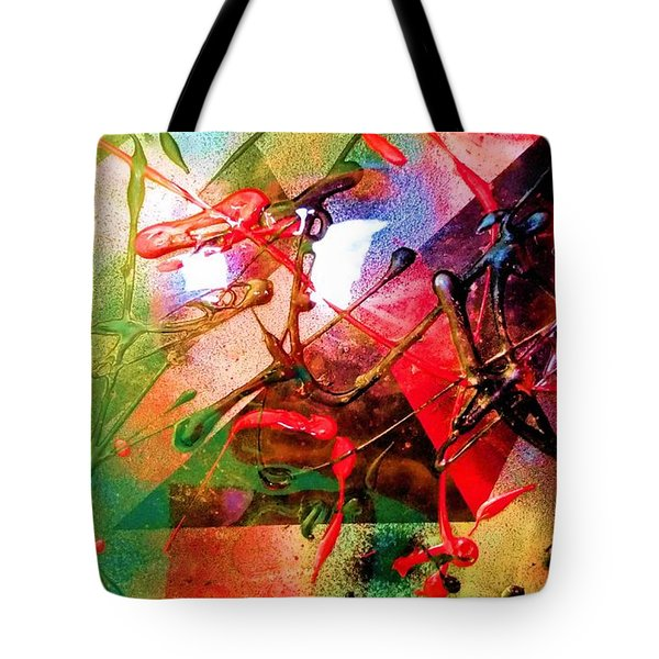 Textured Abstract Tote Bag