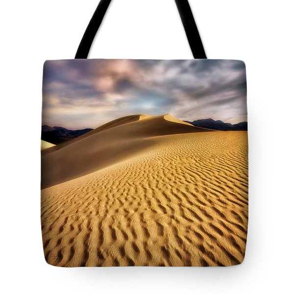 Textured Dunes  Tote Bag by Nicki Frates