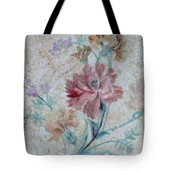 Textured Florals No.1 Tote Bag