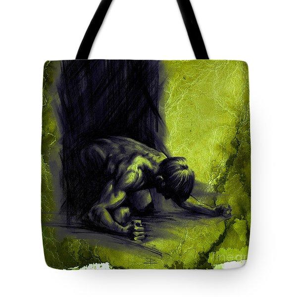 Textured Frustration Tote Bag