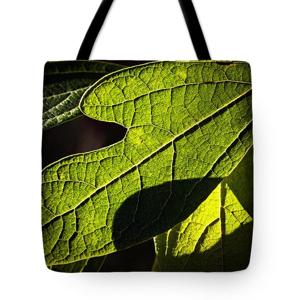 Textured Glow Tote Bag by Christopher Holmes
