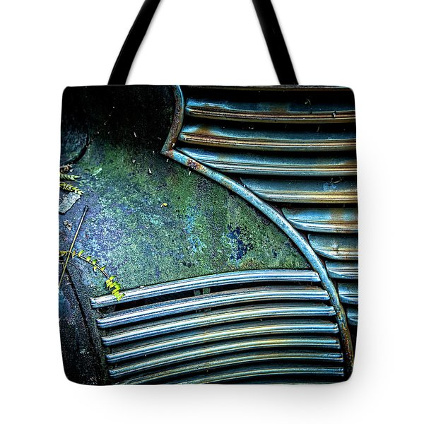 Textured Grille Tote Bag
