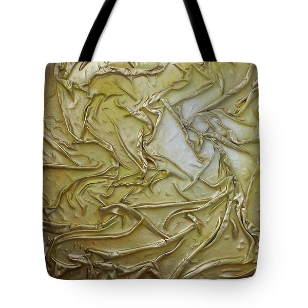 Textured Light Tote Bag