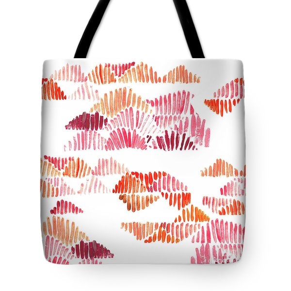 Textured Lines Tote Bag