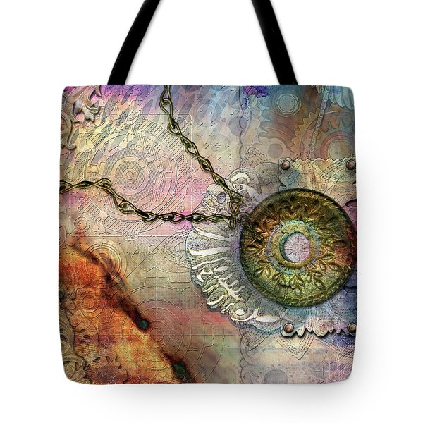Textured Past Tote Bag
