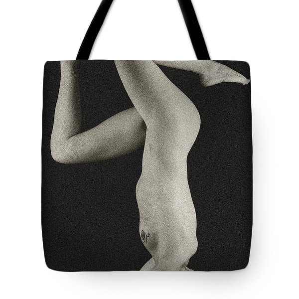 Textured Twist Tote Bag
