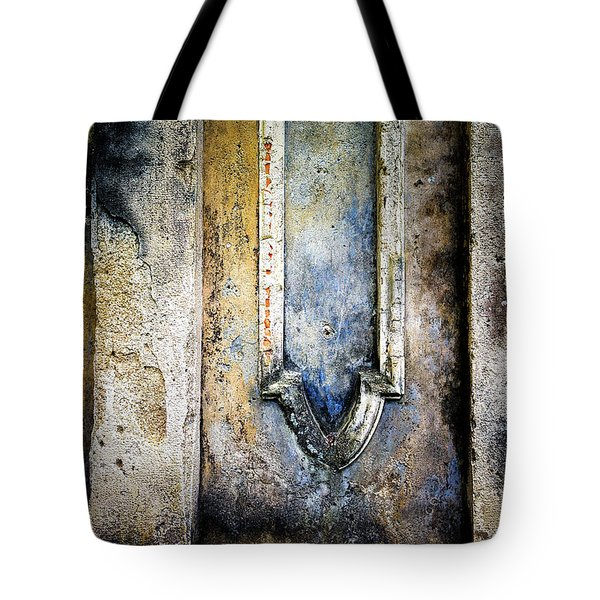 Tote Bag featuring the photograph Textured Wall by Marion McCristall