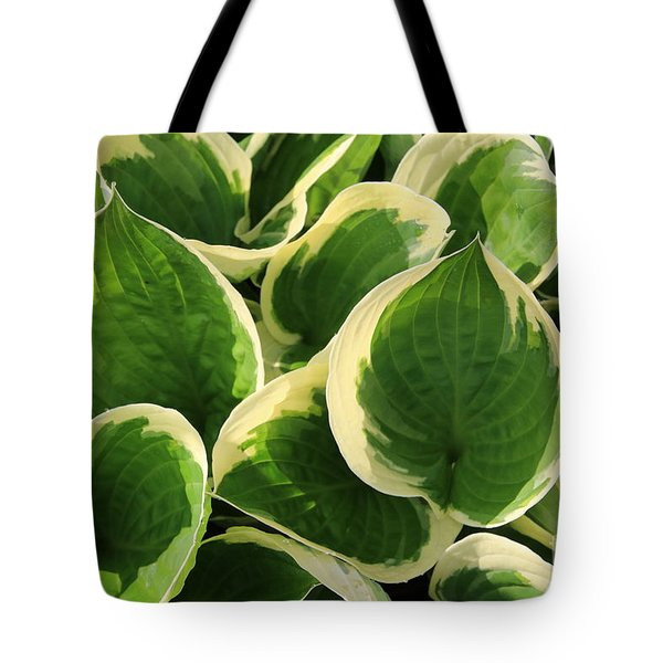 Textures In Leaves Tote Bag