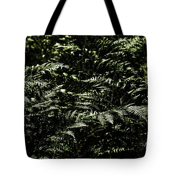 Textures Of A Rainforest Tote Bag