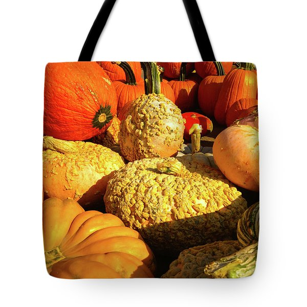 Textures Of Fall Tote Bag