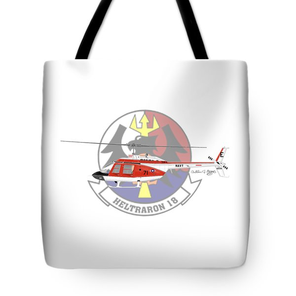 Th-57c Ht-18 Tote Bag by Arthur Eggers