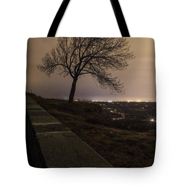Thacher Park Twilight Tote Bag