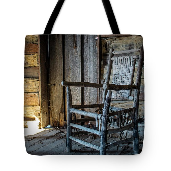 Thacker Cabin Chair Tote Bag