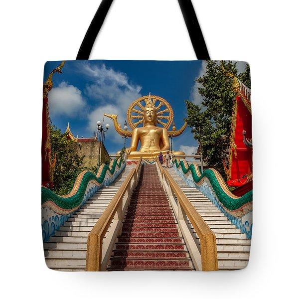 Thai Big Buddha Tote Bag