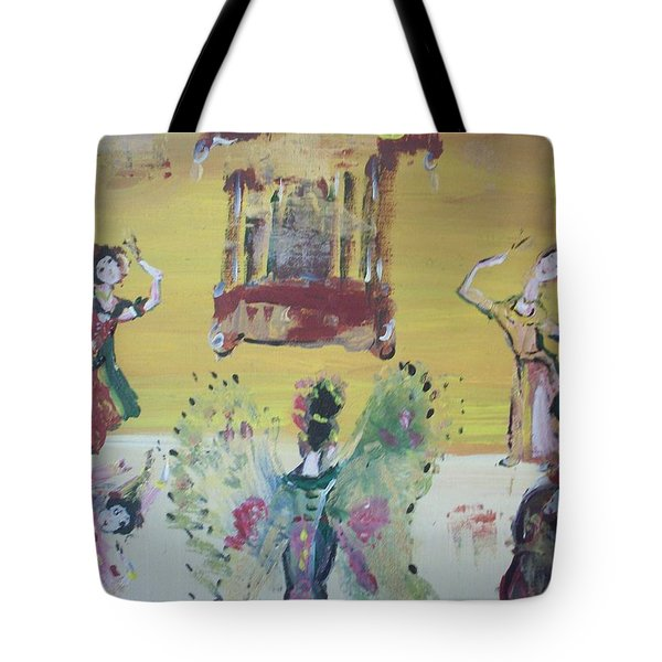 Thai Butterfly Dance Tote Bag by Judith Desrosiers