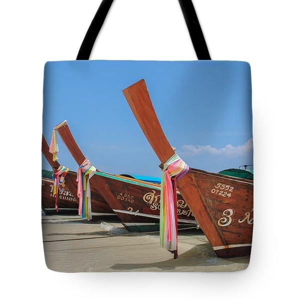 Thai Chariots Tote Bag
