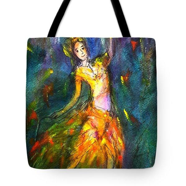 Thai Dancing Tote Bag