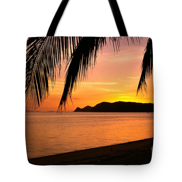 Thailand, Koh Pagan Tote Bag by William Waterfall - Printscapes