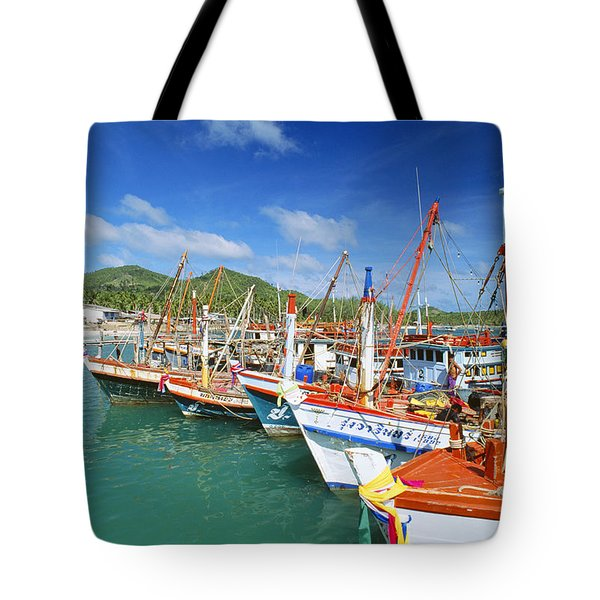 Thailand, Koh Phangan Tote Bag by William Waterfall - Printscapes
